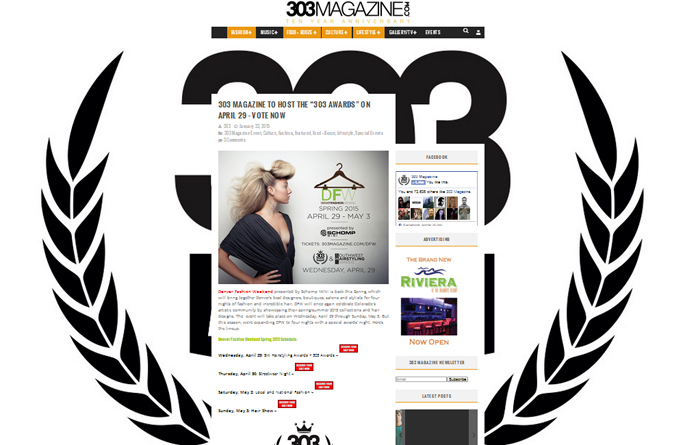 303 Mag Designer Award Nominee