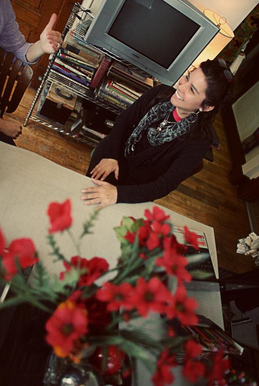 mona-lucero-in-her-studio-photo-Gem-Reul