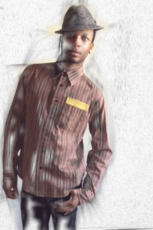 Brown Striped Upstyle Shirt