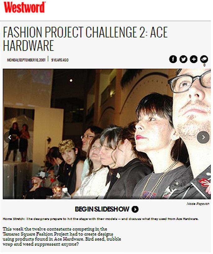 fashion project press