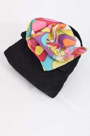 Mona Lucero Baby Bag Mod Flower Side