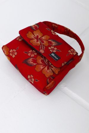 Baby Bag Red Bocade