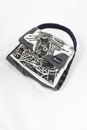 Black & White Geisha Pop Deconstruction Bag